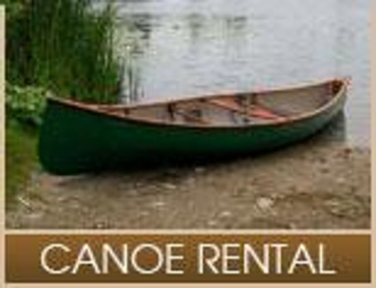 Lake Pleasant Lodge: Canoes available