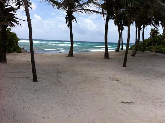 Grand Bahia Principe Tulum: praia