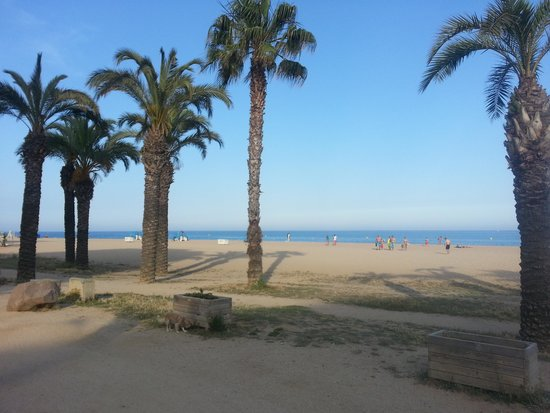 Santa Susanna Resort: beach