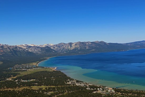 South Lake Tahoe, Califórnia: The view from the observation deck