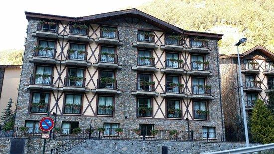 Hôtel Spa Princesa Parc : Façade de l hôtel