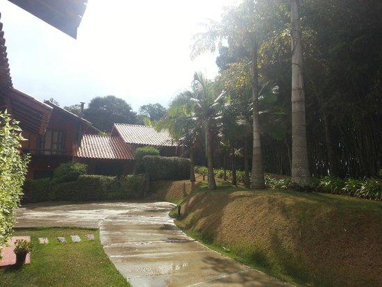 Pousada do Quilombo Resort: Vista na entrada do quarto