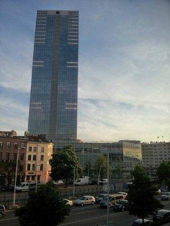 Mercure Brussels Centre Midi: Vista da janela do quarto