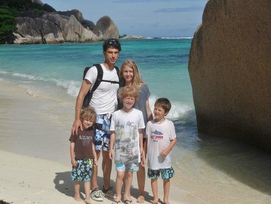 Praslin-øya, Seychellene: .