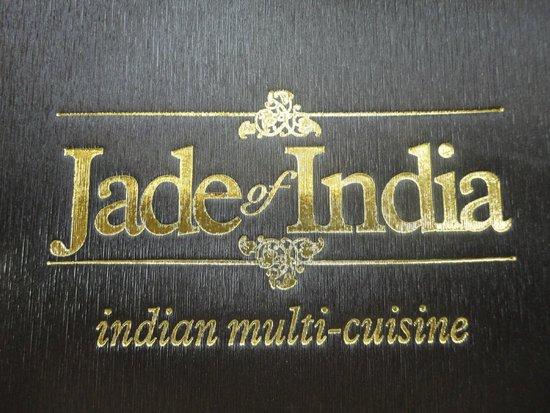 Jade of India: Menu