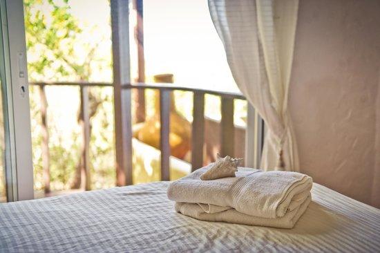 Sandy Ground Estates: Ground floor bedroom with balcony, Diamond View Villa