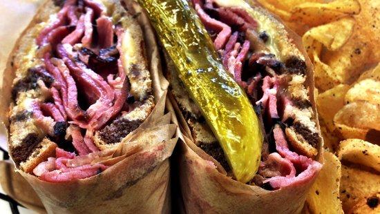 Max's Deli & Catering Company : #7 Pastrami on Rye