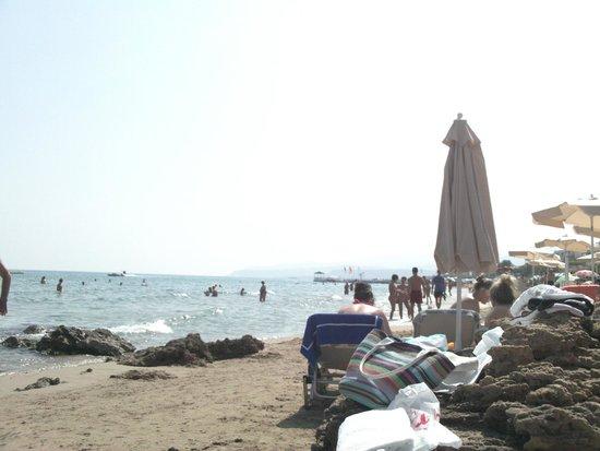 Aggelo Hotel Stalis : Beach2