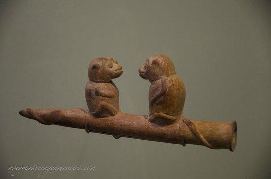 Museum für präkolumbische Kunst Casa del Alabado: Pottery figures