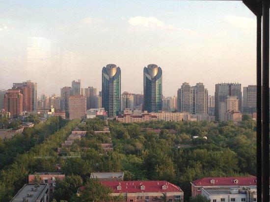 Hotel Eclat Beijing: View from breakfast dining area