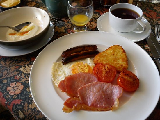 Room At 24: full english breakfast