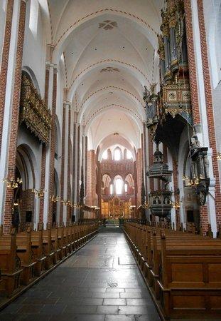 Roskilde Cathedral: Roskilde Domkirke inside