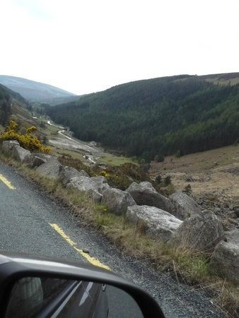 The Wicklow Way : On the road : Wicklow Mountains National Park