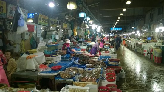 The Ritz-Carlton, Seoul: fish market ... is a must