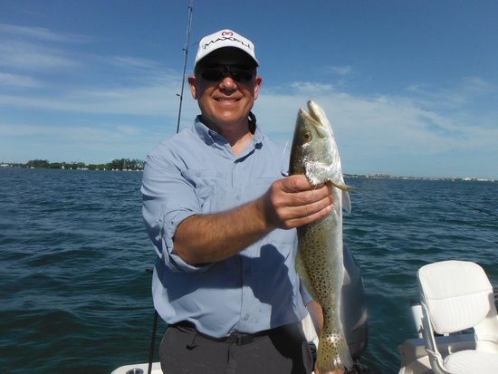 CB's Saltwater Outfitters: A nice Trout!