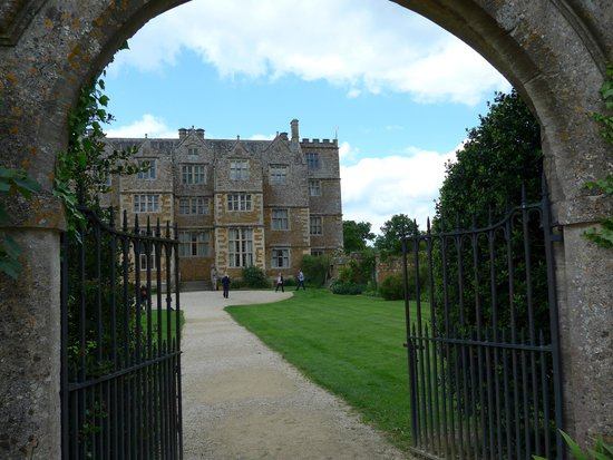 Chastleton House and Garden: Chastleton from gate