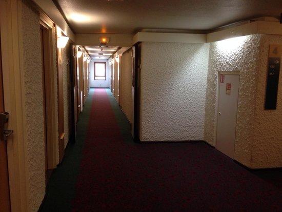 Ibis Bastille Opera: Corredor do 4o andar hotel