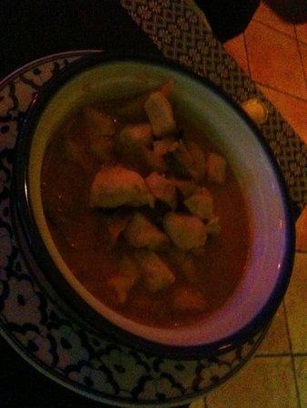 Thai Inn: Pollo al curry e latte di cocco
