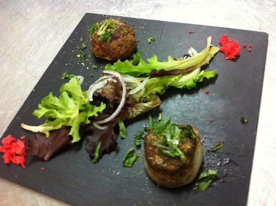 L' Escapade : Farcis niçois dans le menu dégustation