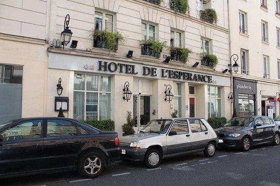 Hotel de l'Esperance: Exterior as of June 2014