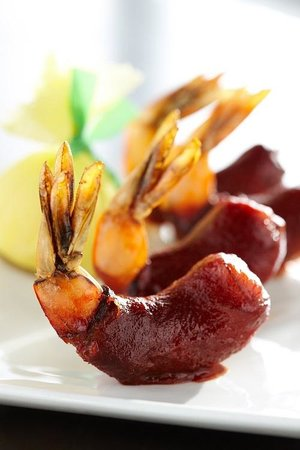 Shula's 347 Grill - Atlanta Marriott Buckhead Hotel: BBQ Shrimp