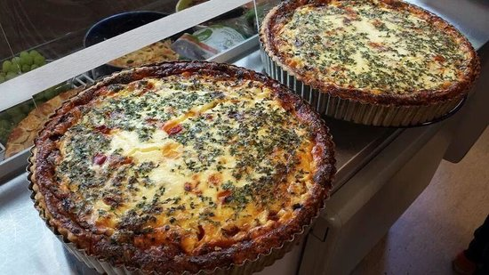 The Harvest Mouse Cafe Limited: homemade quiche