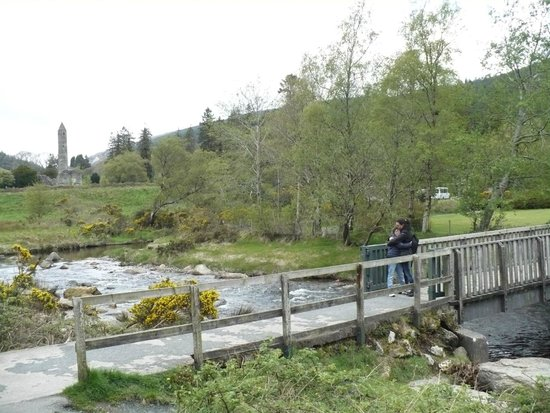 Wicklow Mountains National Park: ponte