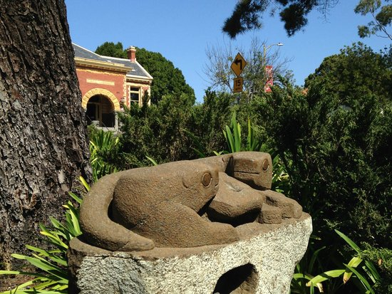 Museum of Art: One of the many outdoor sculptures around the building (2 otters)