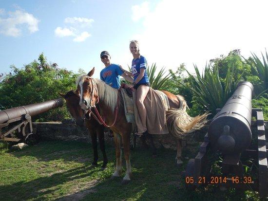 Sandals Grande Antigua Resort & Spa: Horseback riding
