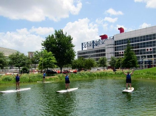 Discovery Green: Fun on the water