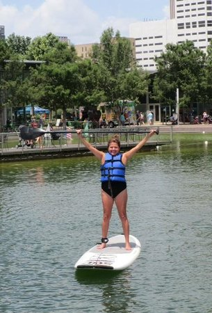 Discovery Green: It's my Birthday!!!