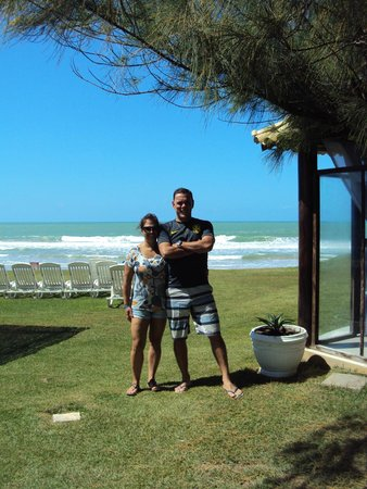 Prodigy Beach Resort Marupiara: Casal.