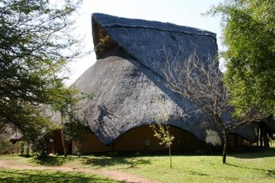 Lokuthula Lodges: side View of our lodge