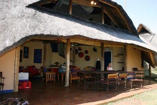 Lokuthula Lodges: Family settling in