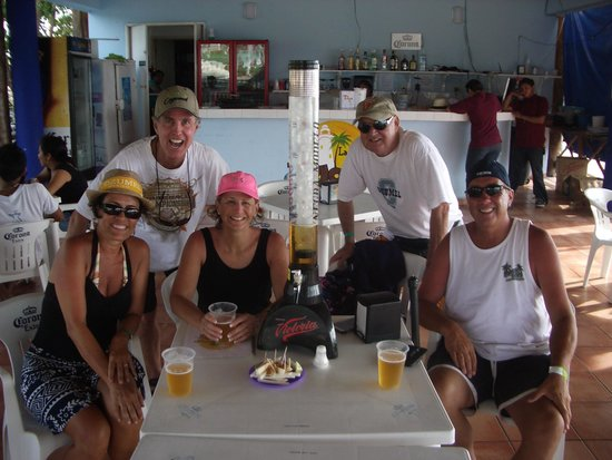 Tio Jose: Check out the BEER tower!!