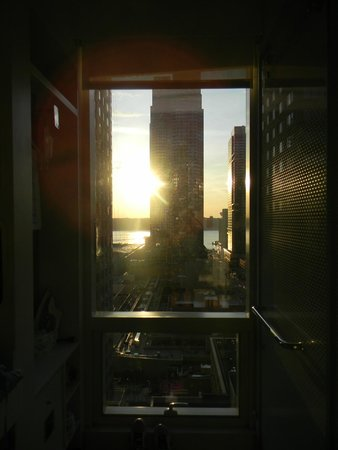 YOTEL New York at Times Square West: sunset