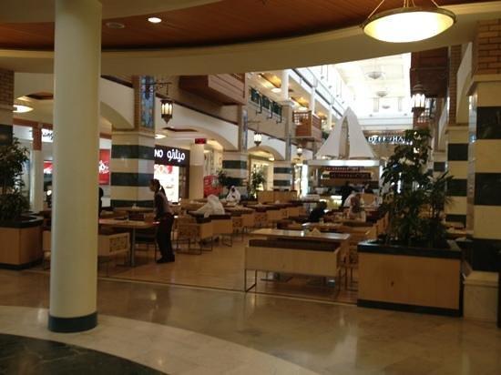 Souk Sharq: A cafe on the base floor