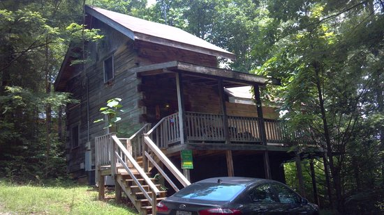 Timberwinds Log Cabins: Awesome view cabin