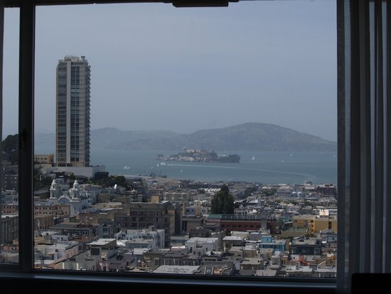 Fairmont San Francisco: View from our room window