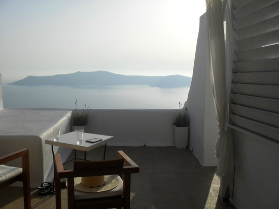 Afroessa Hotel : view from our room
