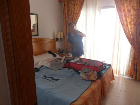 ClubHotel Riu Oliva Beach Resort: second room offered. and taken