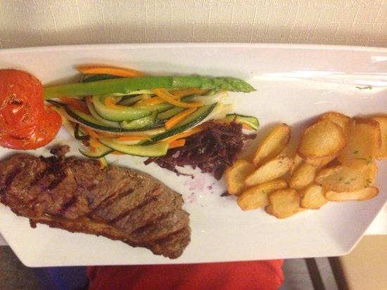 All Beef : Blackened Angus Steak