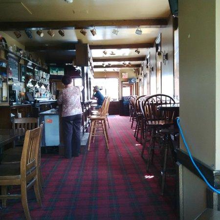 Rob Roy's Pub & Restaurant: Inside Pub