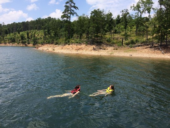 Ouachita National Forest: Lake Ouachita, June 2014