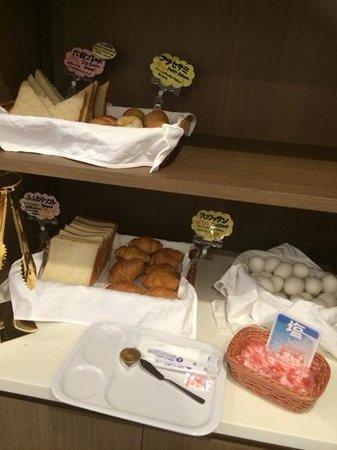 Hokke Inn Tokyo Nihonbashi: パンです