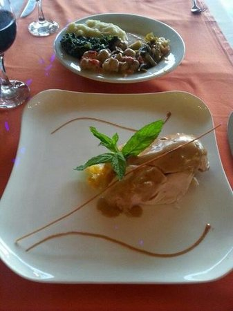 Isil Club Bodrum : another Chef and another plate of good food!