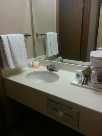 La Quinta Inn Caldwell : small sink area