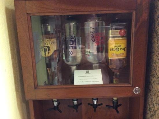 ClubHotel Riu Tequila: minibar optics