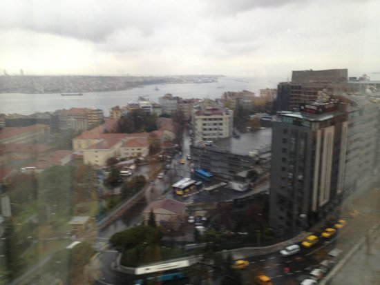 InterContinental Istanbul: Vista do apartamento