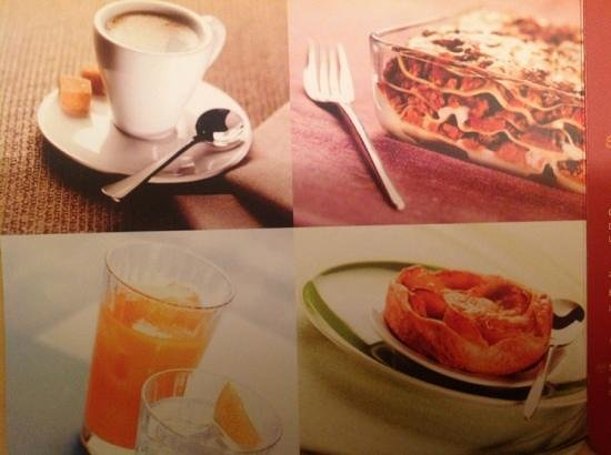 Ibis Sharq Kuwait: Room service menu 2
